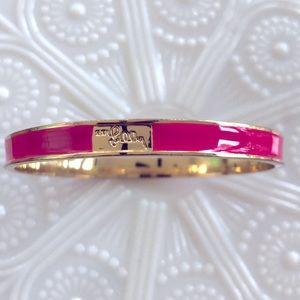 Lily Pulitzer Pink Bangle Bracelet